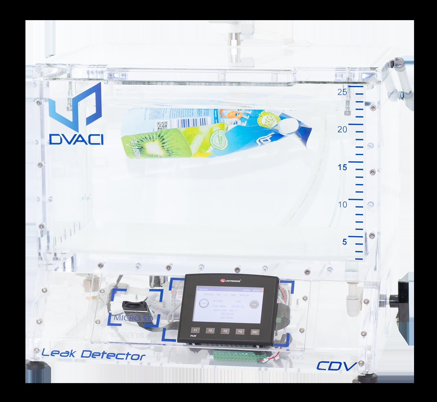 camara de vacio para pruebas de hermeticidad CDV3 PVVI