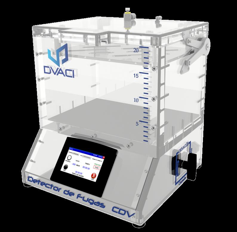 Camara de hermeticidad al vacio CDV 2 DVACI