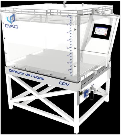 Camara de hermeticidad al vacio CDV 5 DVACI