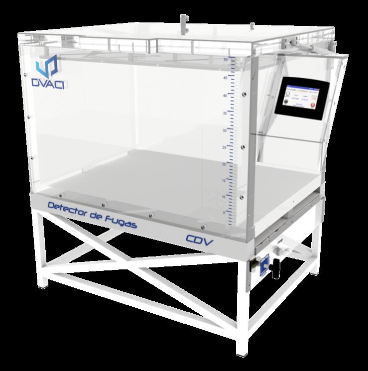 Camara de hermeticidad al vacio CDV 6 DVACI