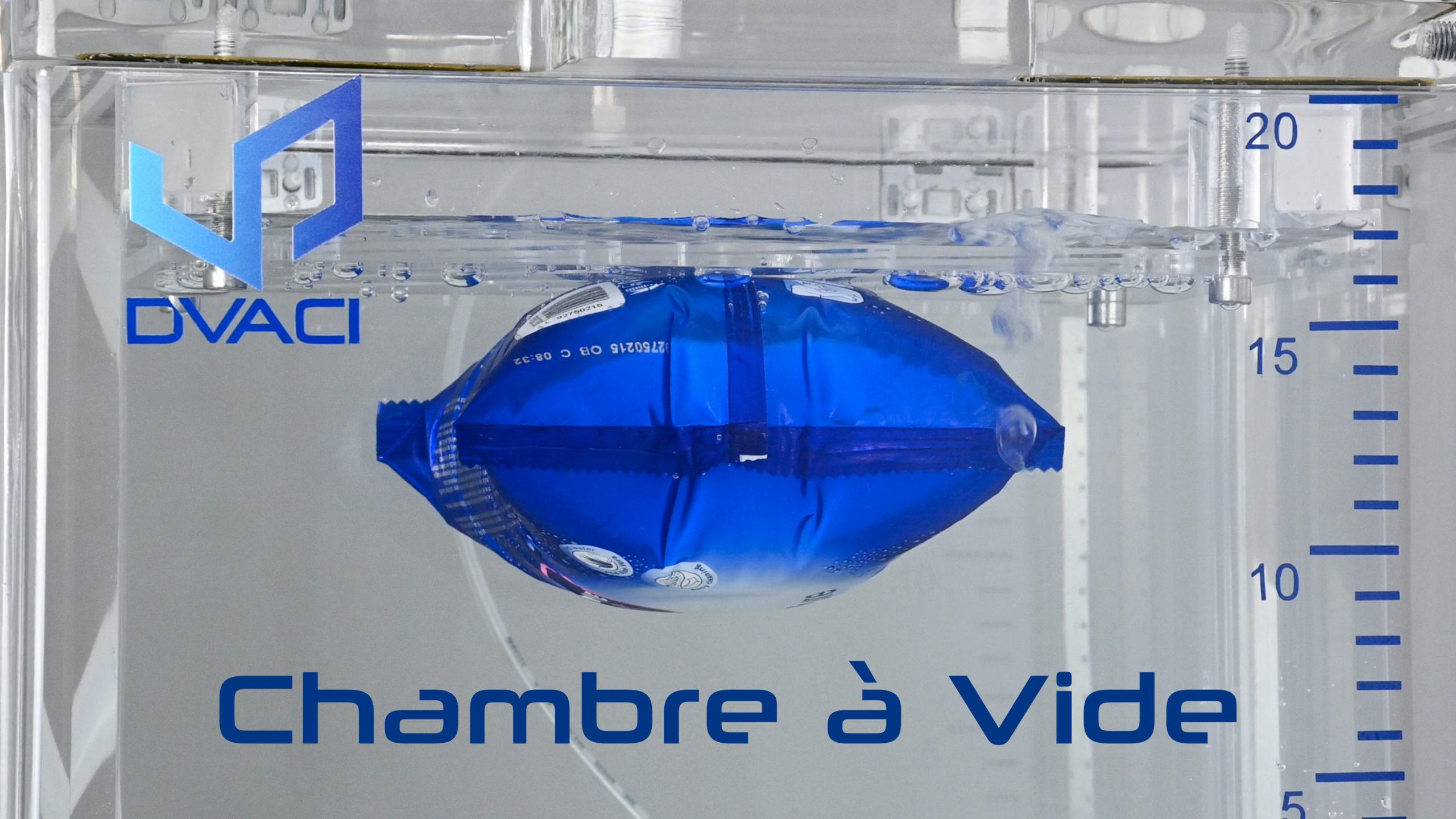 CDV Chambre Caisson a vide Controle Etancheite Emballage