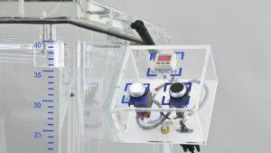 Semi automatic vacuum leak tester floor stand 2