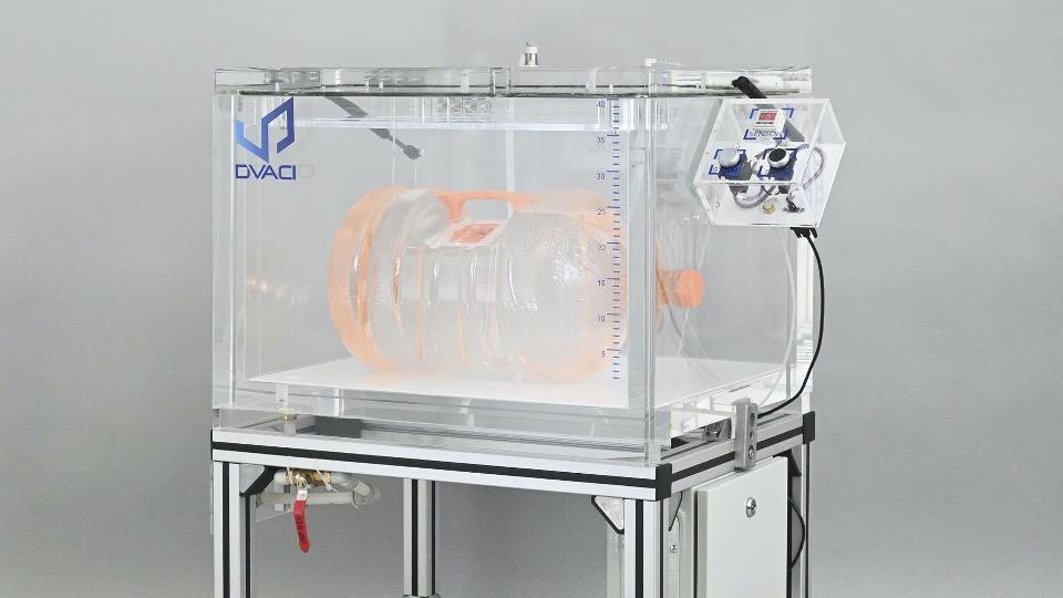Semi automatic vacuum leak tester floor stand 3