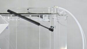 Semi automatic vacuum leak tester floor stand 4