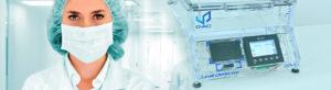 CDV Pharma DVACI leak tester vacuum chamber blue dye method