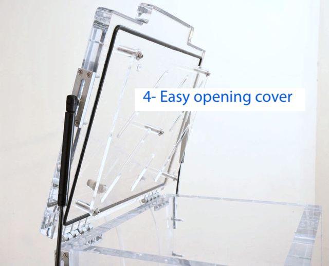 DVACI CDV Easy opening cover