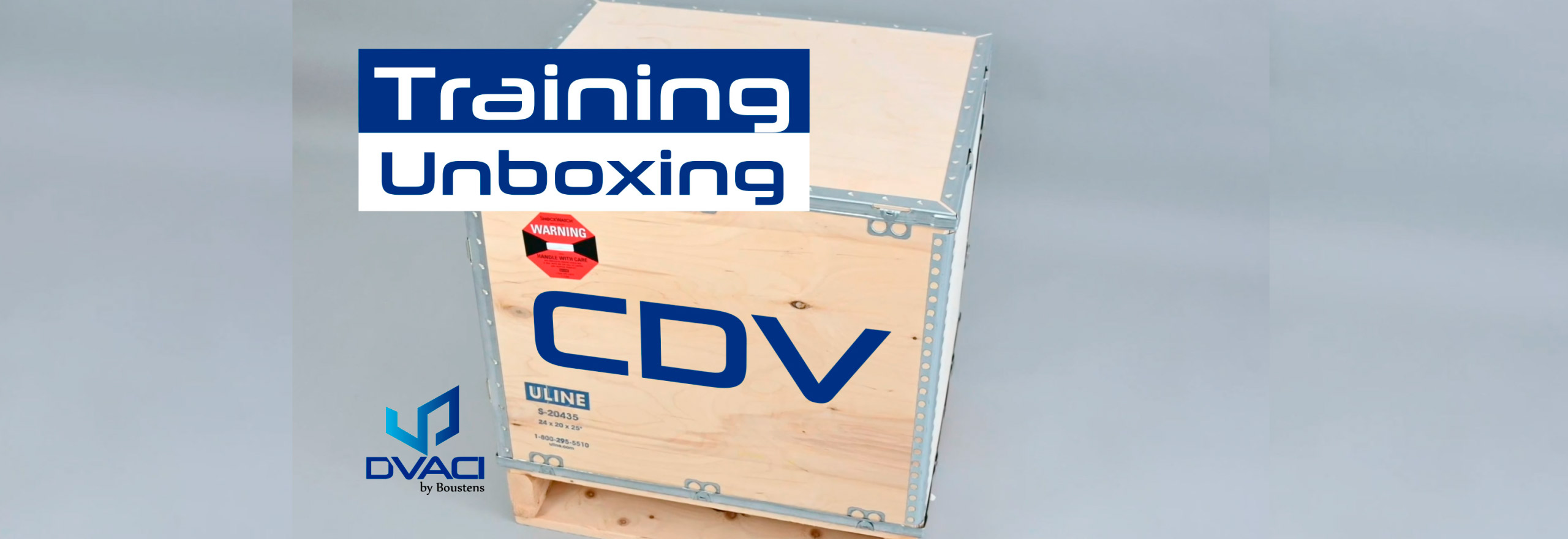 Vacuum Chamber CDV Unboxing training video