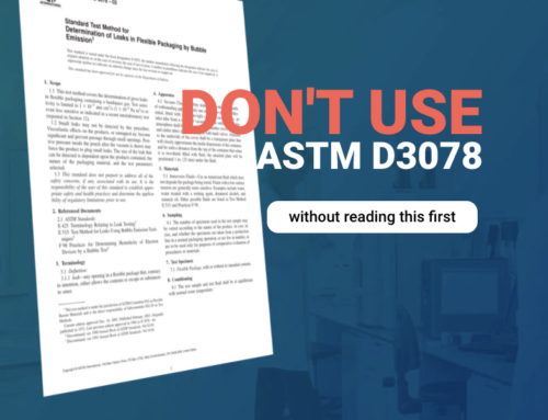 Don't use ASTM D3078 without reading this first