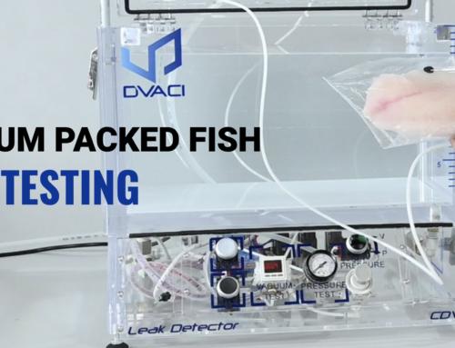 Vacuum packed fish leak testing ASTM F2096-11